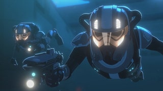 First Order SCUBA troopers