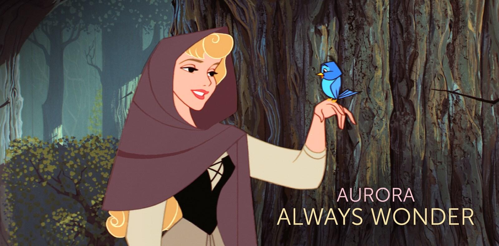 Aurora AU - character page flex