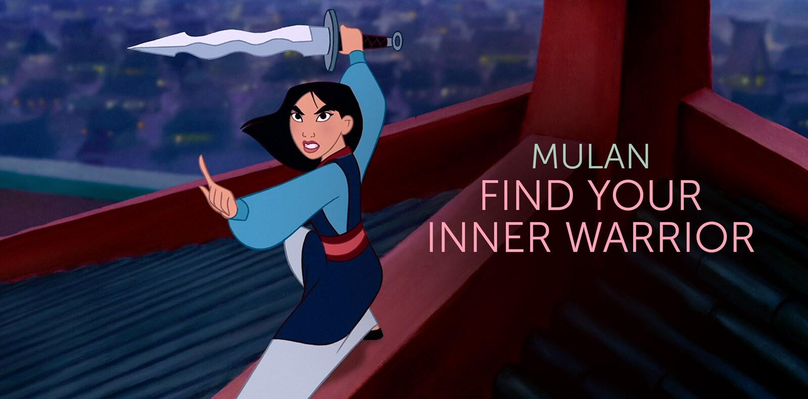 mulan as the woman warrior