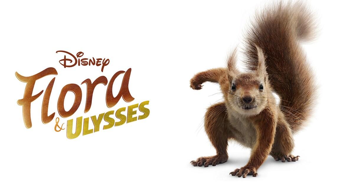 Disney+ apresenta o trailer e o pôster de Flora e Ulysses