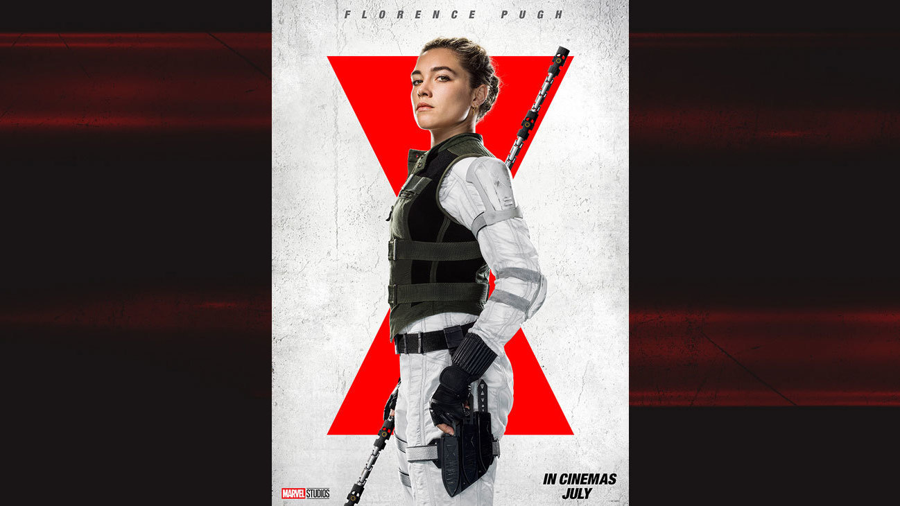 Florence Pugh as Yelena from the movie Black Widow