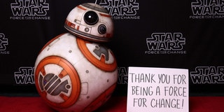 Thank You for Donating to Force for Change's Star Wars 40th Anniversary Campaign