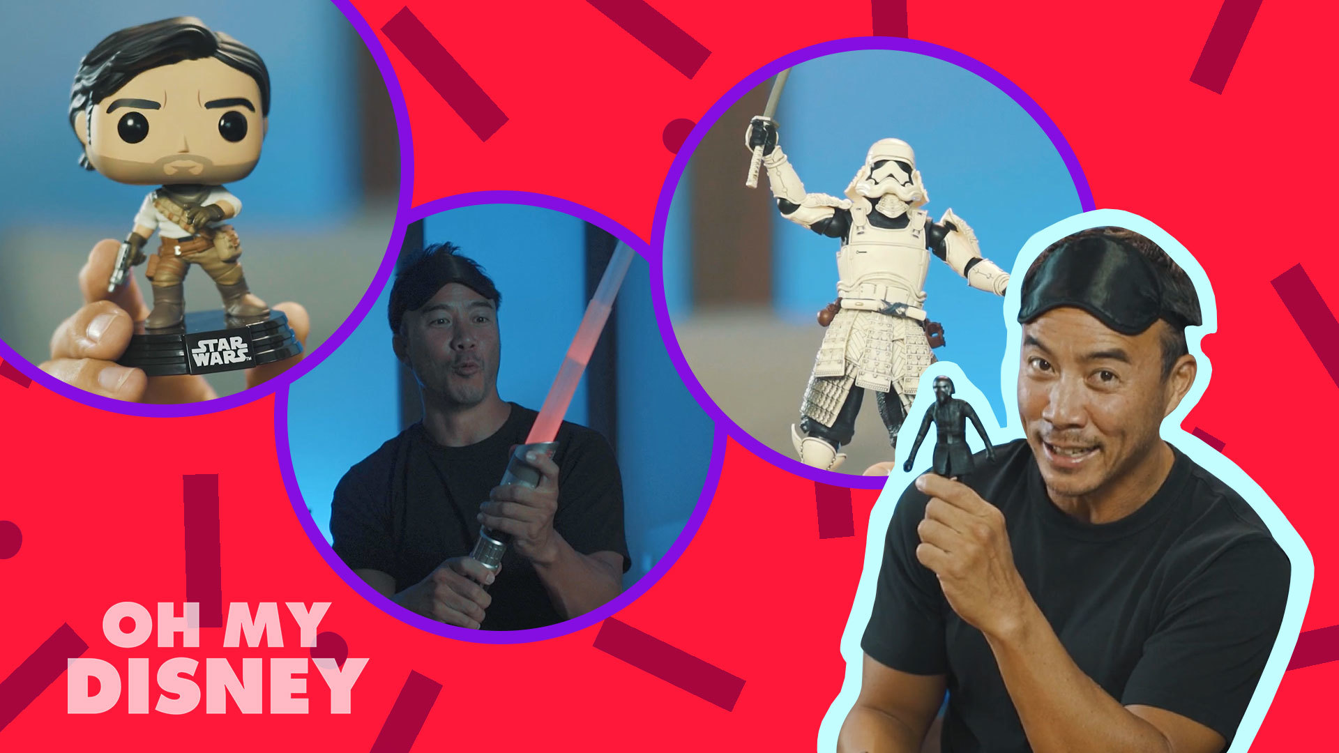 Unboxing Brand New Star Wars: The Rise Of Skywalker Products With Allan Wu
