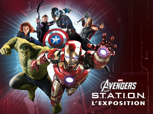 Marvel Avengers S.T.A.T.I.O.N : l'exposition