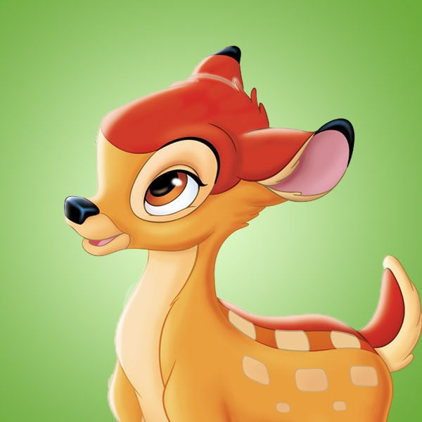 Coloriages Bambi
