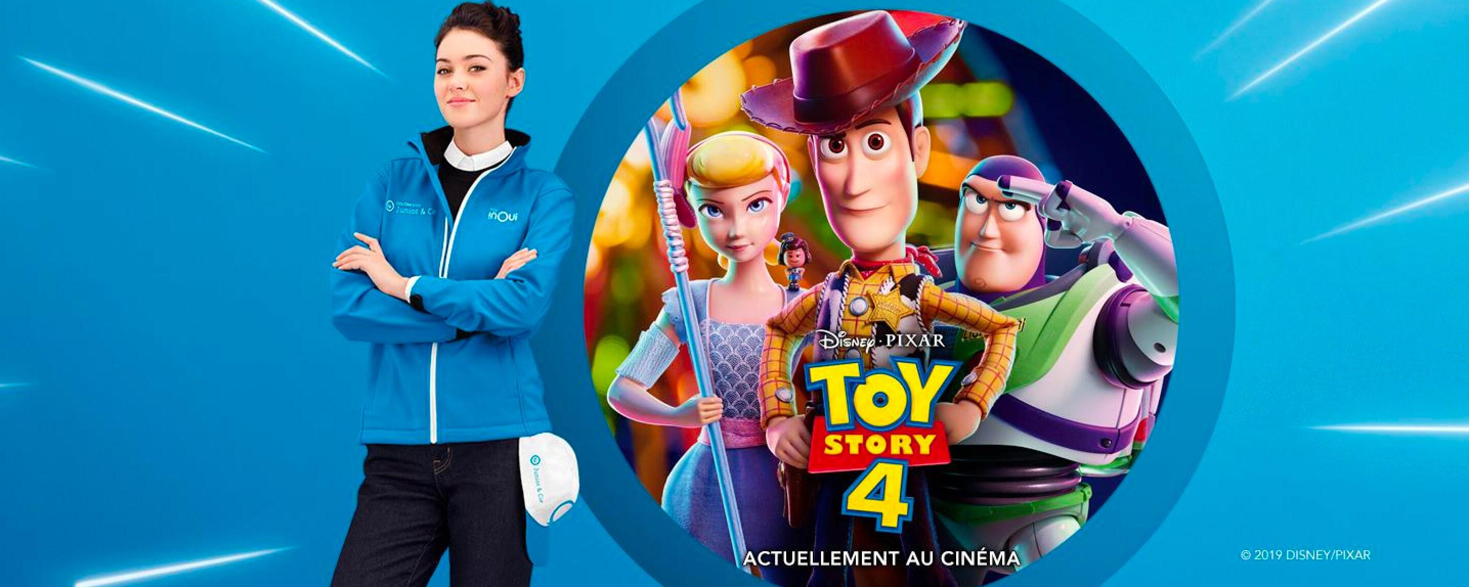 TGV INOUI et Toy Story 4 enchantent le voyage des familles !