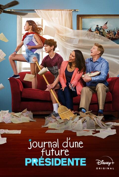 Disney Plus - Diary of a Future President - Poster