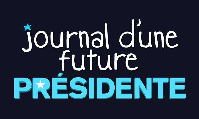 Disney Plus Video Page - Diary of a Future President - Logo