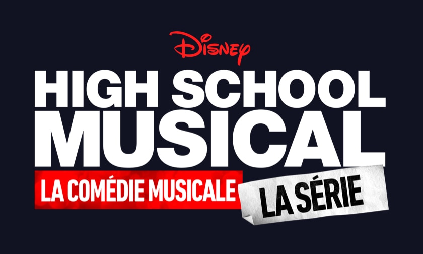 Disney Plus Video Page - High School Musical The Musical The Series - Logo