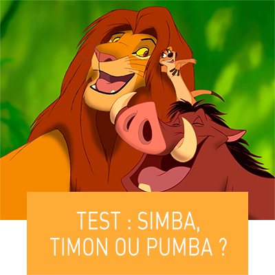 Test : Simba, Timon ou Pumba ? (destination thumbnail)