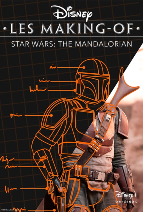 Disney Plus - Disney Gallery The Mandalorian - Poster