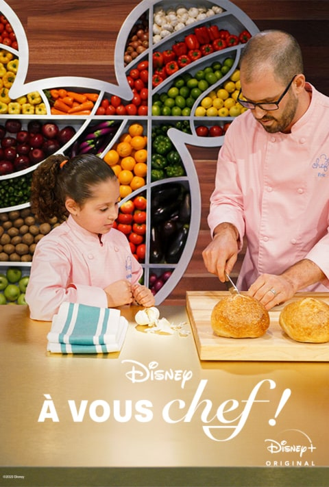 Disney Plus - Be Our Chef - Poster