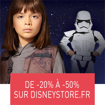Promotion Star Wars -50% Disneystore (destination thumbnail)