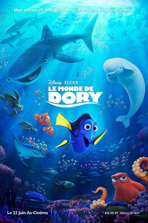 Vidéos Le Monde de Dory