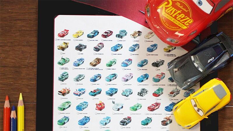 Kit d'activités « As de la route » Cars 3