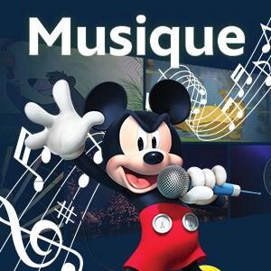 Vidéos Musique Disney