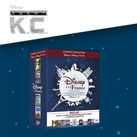 A gagner : des DVD Disney et la France !
