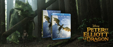Peter et Elliott le dragon en DVD