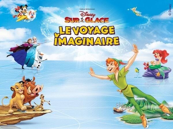 Disney Sur Glace - Le Voyage Imaginaire