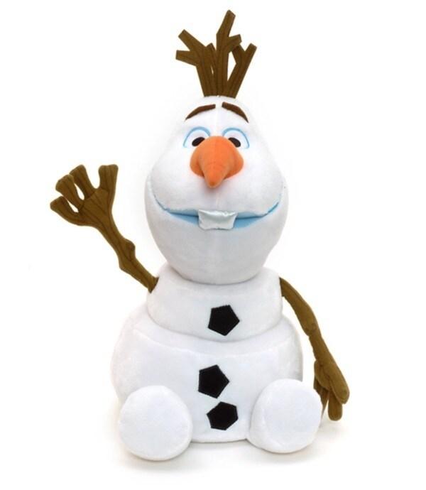 Père Noël Peluche Olaf