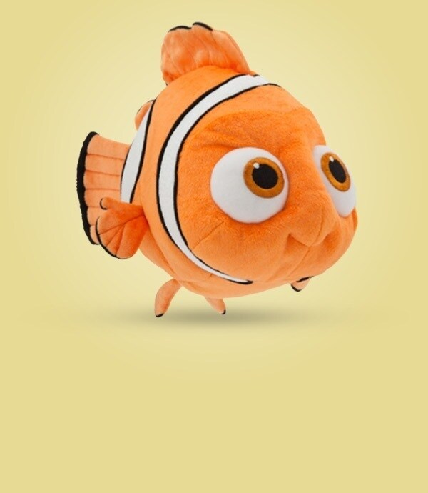 Peluche moyenne Nemo