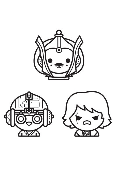 Coloriage star wars emoji disney coloriages fr - Coloriage star wars 3 ...