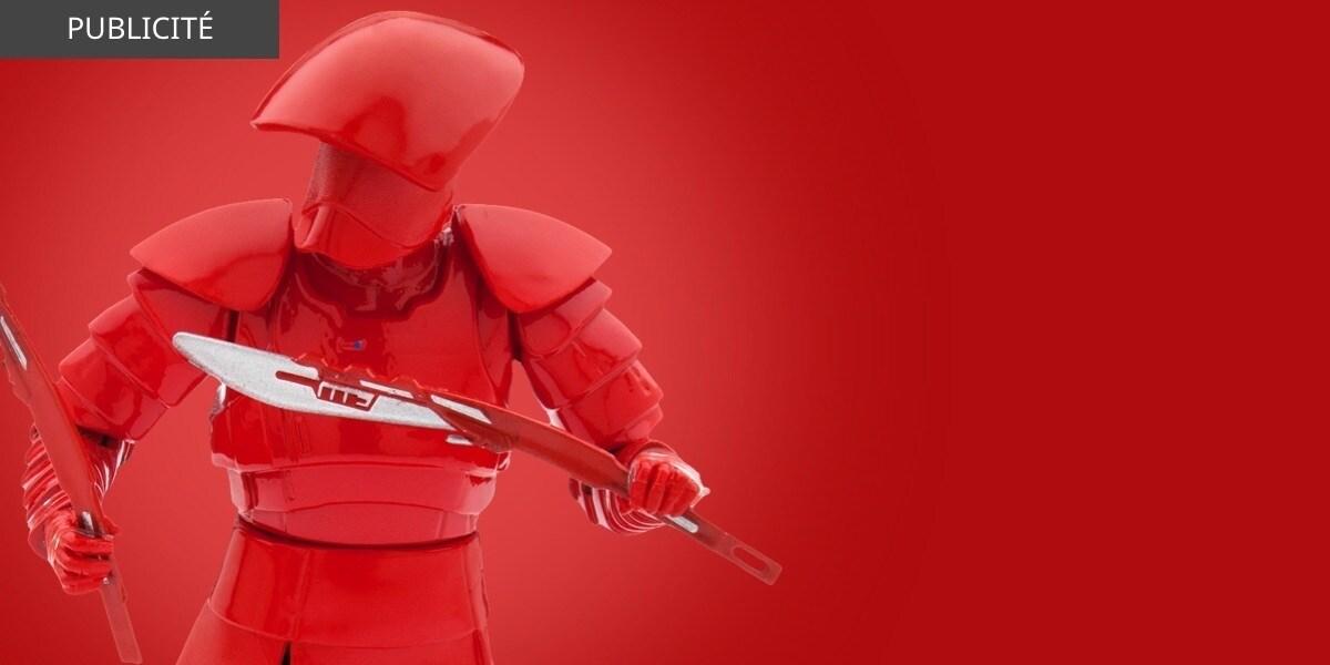 BE-FR - Star Wars The Last Jedi - Featured Product - Elite Praetorian Guard - Flex Grid Object - Wide