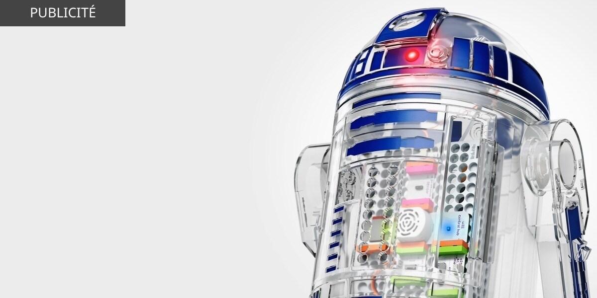 BE-FR - Star Wars The Last Jedi - Featured Product - littleBits R2D2 - Flex Grid Object - Wide