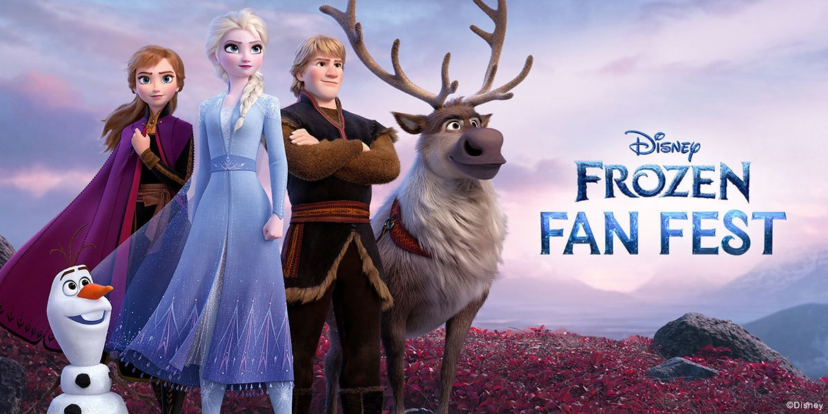 Frozen Fan Fest SHOP Page - EMEA Banner