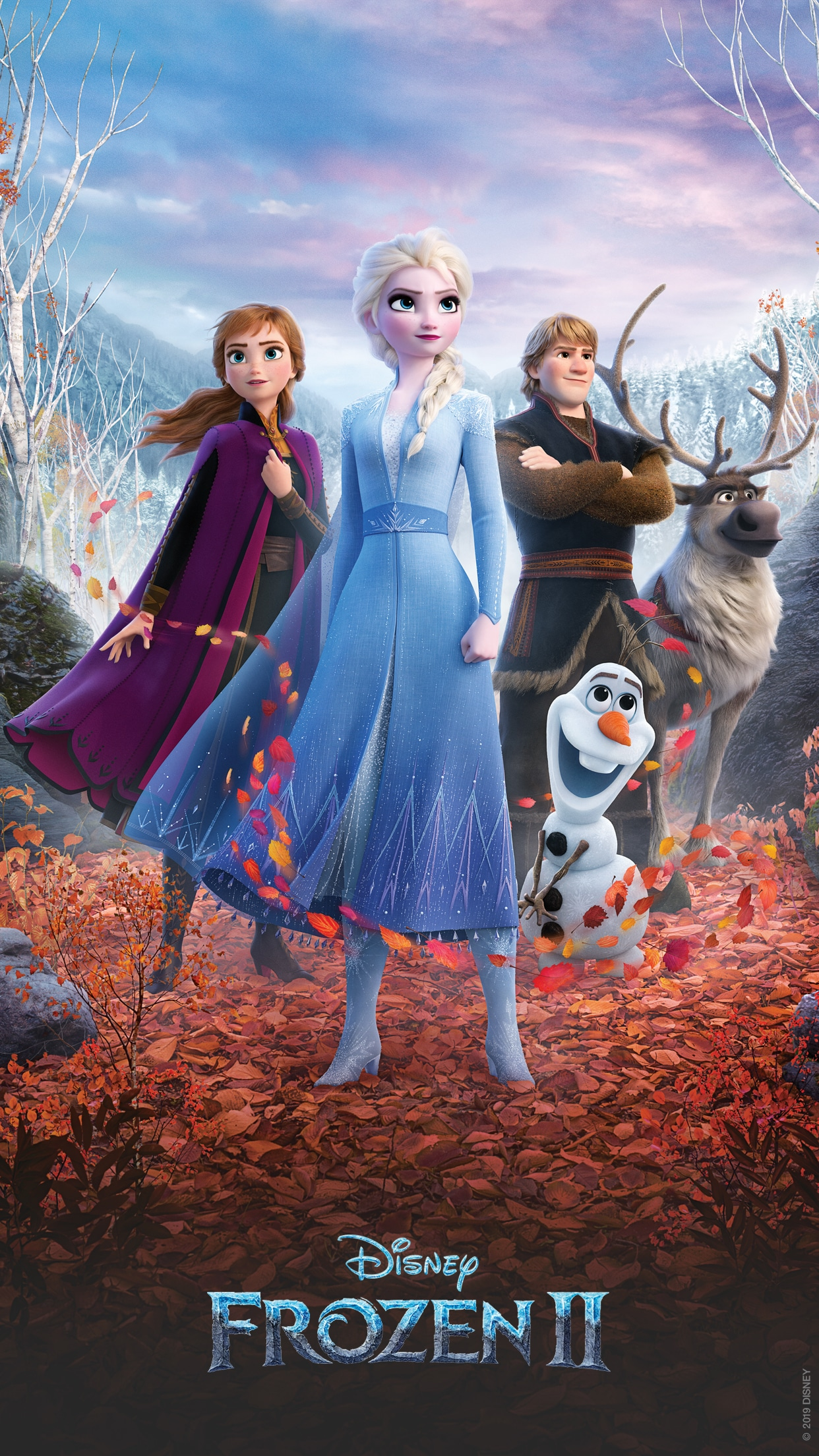 These Disney S Frozen 2 Mobile Wallpapers Will Put You In