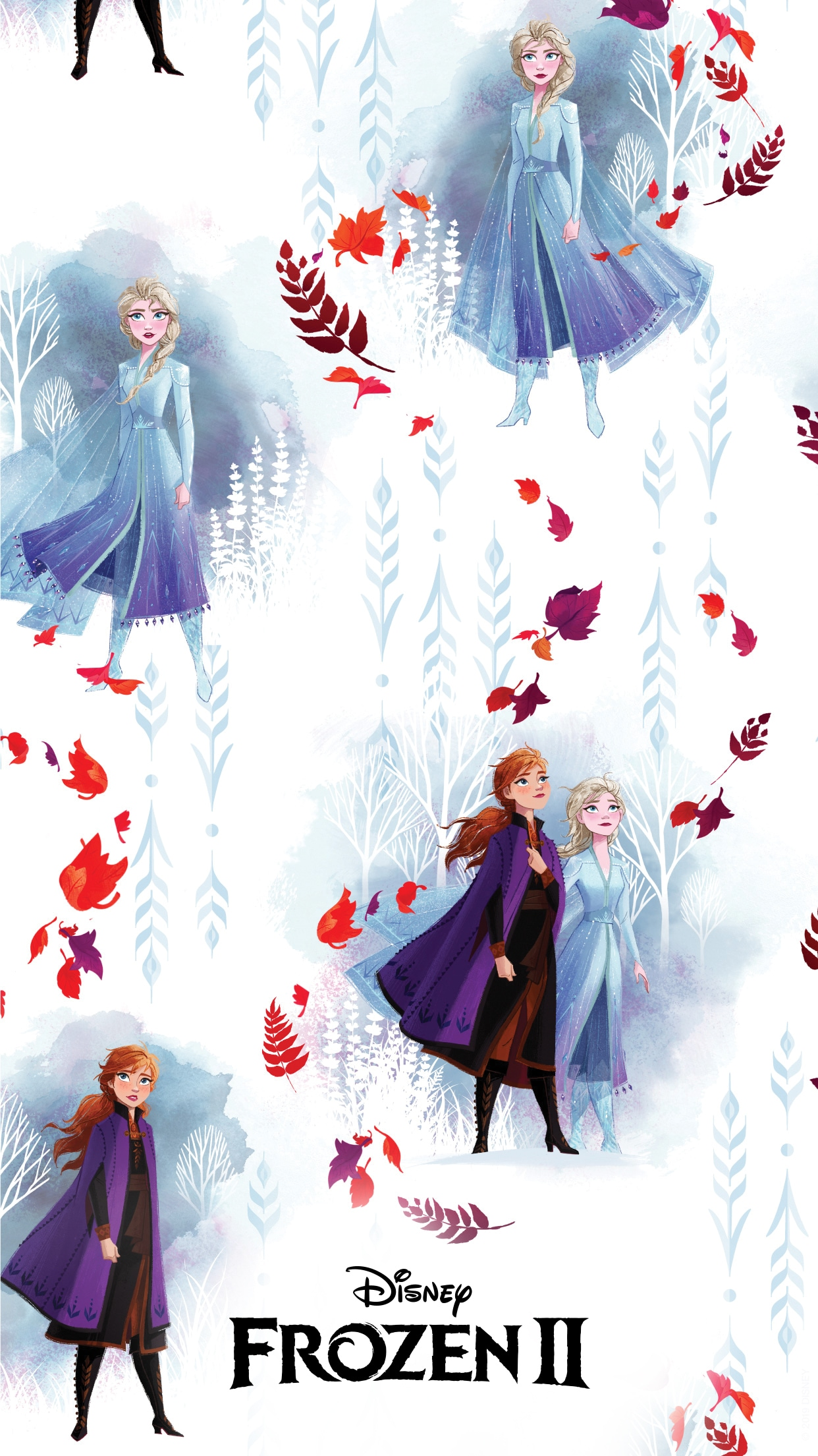 These Disney S Frozen 2 Mobile Wallpapers Will Put You In A