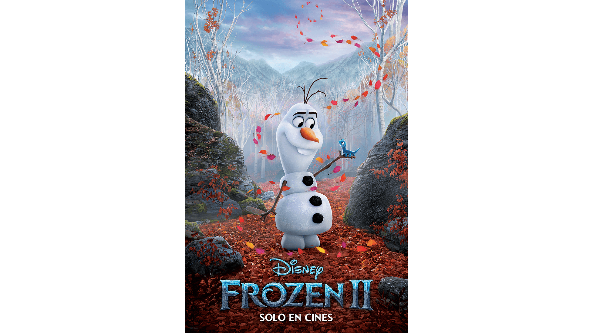 Frozen 2 - Poster Olaf