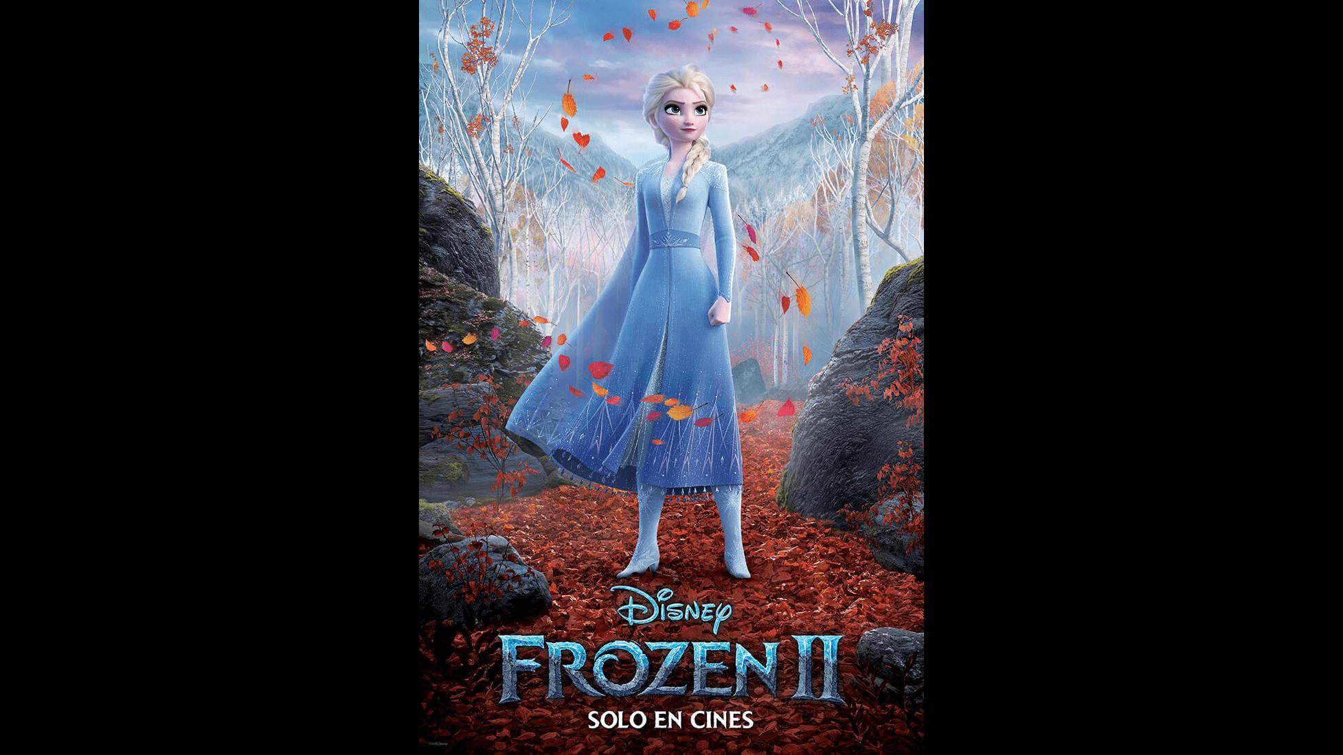 Frozen 2 - Póster Elsa