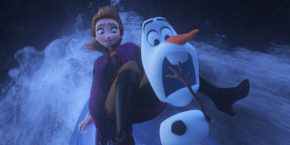 Frozen 2 Olaf Funny moments