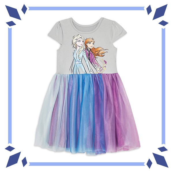 Anna and Elsa Graphic Tutu Dress