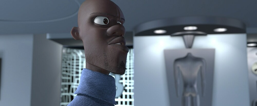 Frozone can't find his super suit in the Incredibles