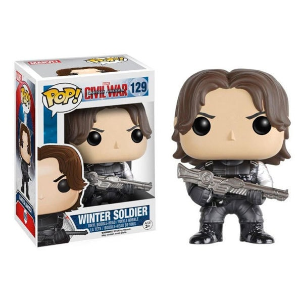 Funko POP! Marvel : Winter Soldier - Product | Lazada | Marvel | Toys
