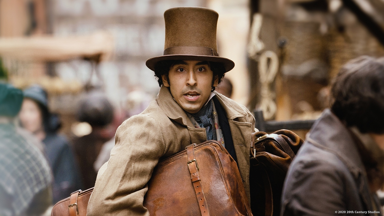 "Actor Dev Patel in the movie ""The Personal History of David Copperfield"""