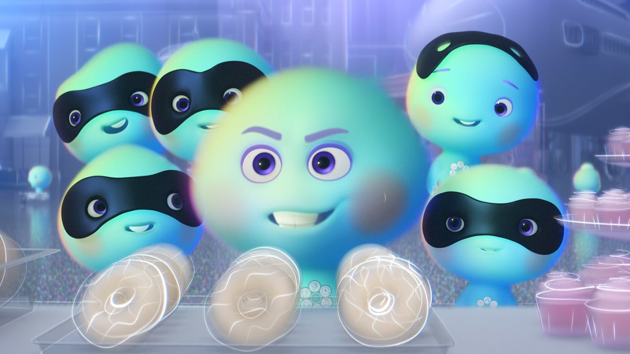 New soul 22 (voice of Tina Fey) and five new souls from the Disney+ Original short 22 vs Earth.