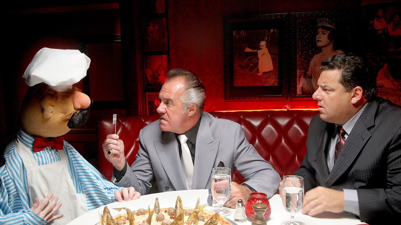Tony Sirico (as Mobster) in the movie A Muppets Christmas: Letters to Santa