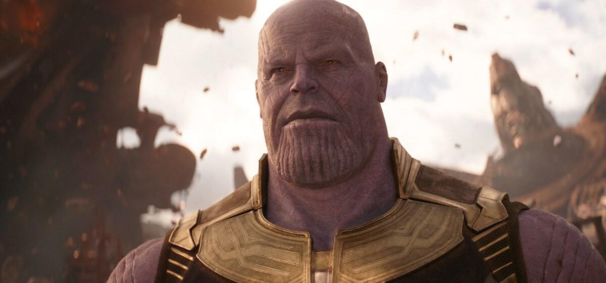 Josh Brolin as Thanos in Avenergs: Infinity War