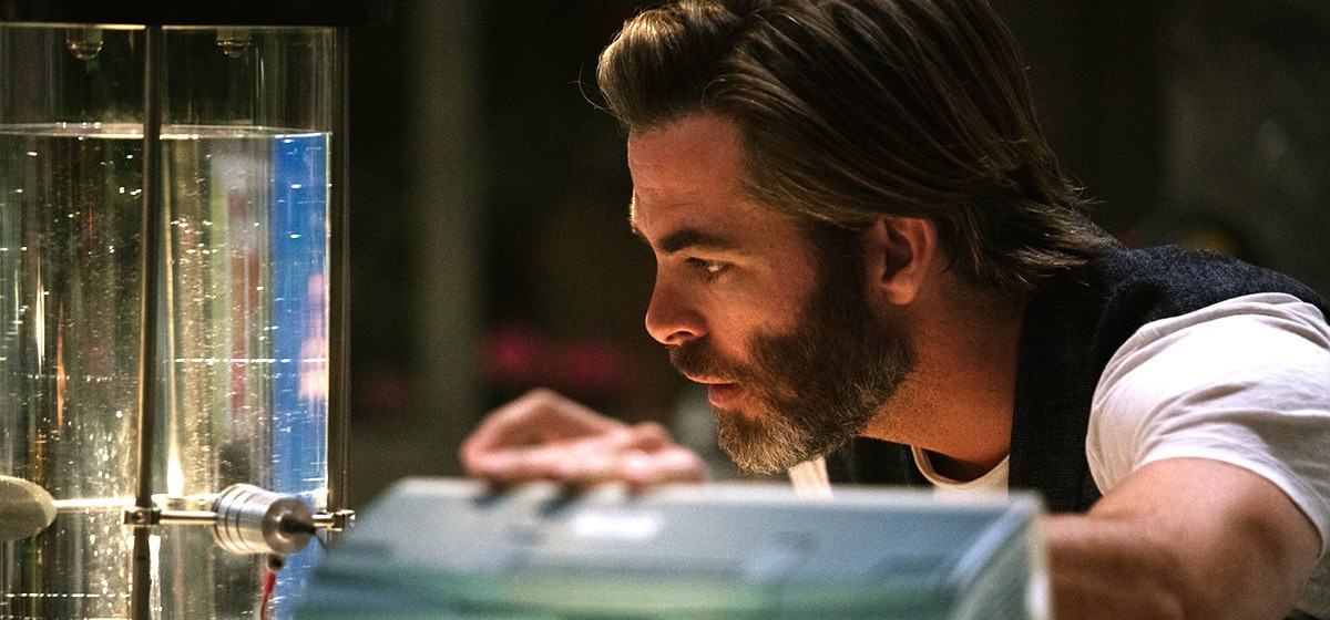 """Dr. Alex Murry (played by Chris Pine) in the movie """"A Wrinkle in Time"""""""