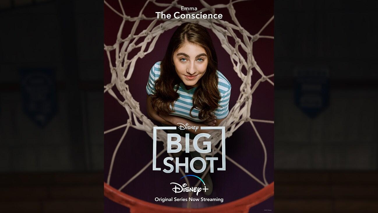 Emma (actor Sophia Mitri Schloss) | The Conscience