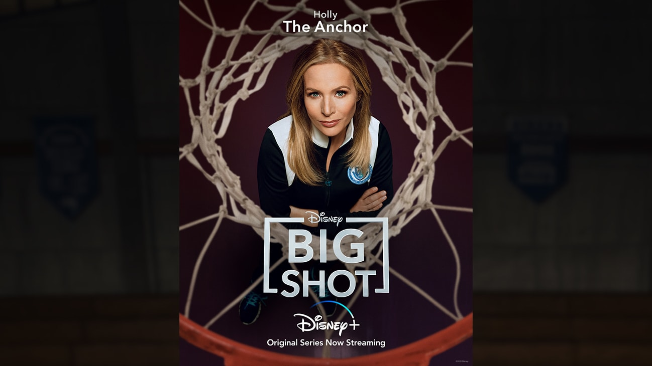 Holly (actor Jessalyn Gilsig) | The Anchor
