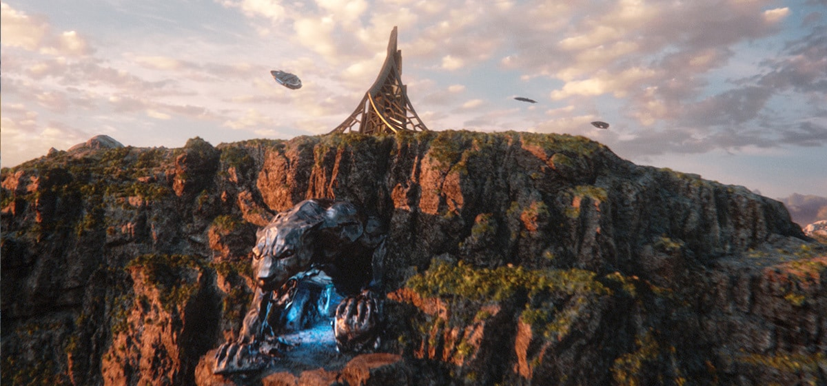 """Wakanda landscape for the film """"Black Panther"""""""