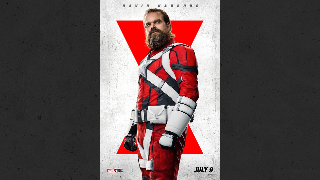 Marvel Studios Black Widow - David Harbour as Alexei aka The Red Guardian. | July 9 | PG-13