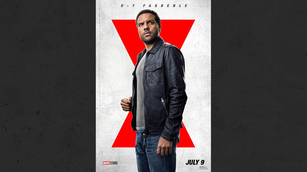 O-T Fagbenle from the Marvel Studios movie Black Widow. | July 9 | PG-13
