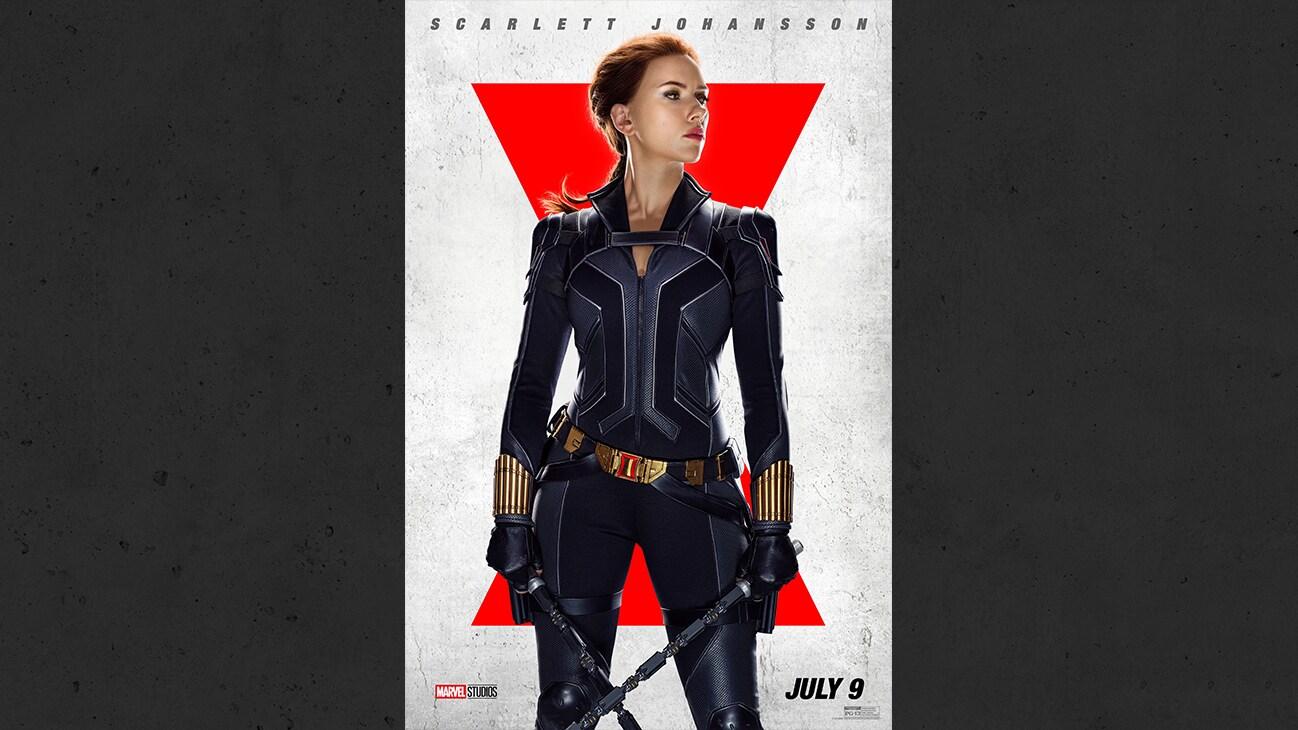 Scarlett Johansson as Natasha/Black Widow from the Marvel Studios movie Black Widow. | July 9 | PG-13