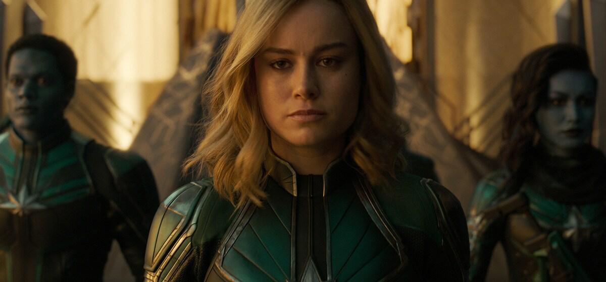 Brie Larson as Captain Marvel in Marvel Studios' Captain Marvel