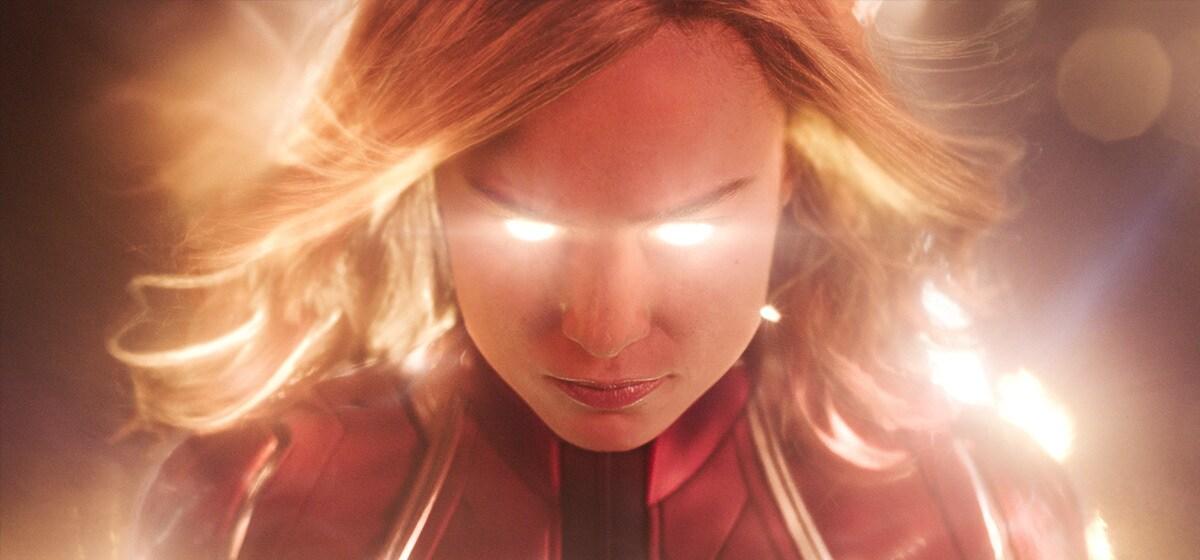 Brie Larson (Captain Marvel) in Marvel Studios' Captain Marvel